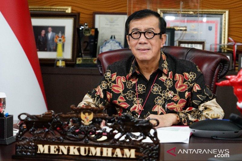 Kemenkumham dorong penguatan integrasi hukum negara ASEAN