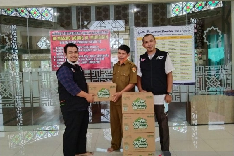 ACT Solok gulirkan gerakan sedekah pangan Ramadhan 1442 Hijriah