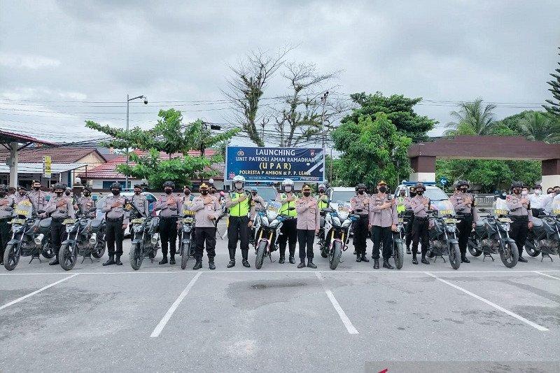 Polresta ambon bentuk unit patroli aman ramadhan