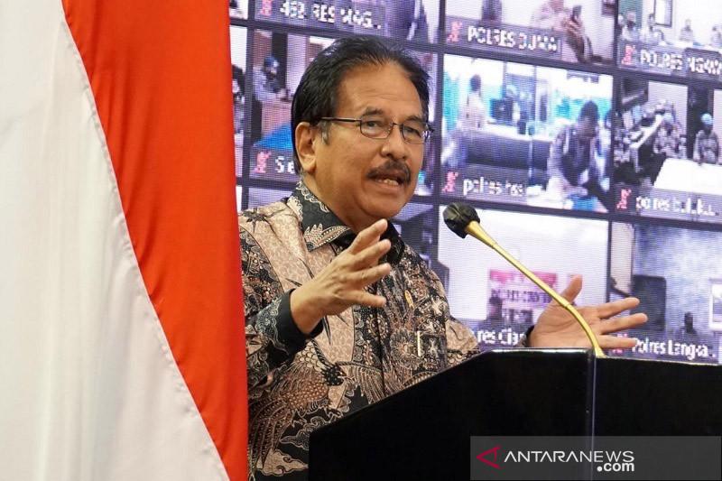 Menteri ATR sebut Polri sangat membantu berantas mafia tanah
