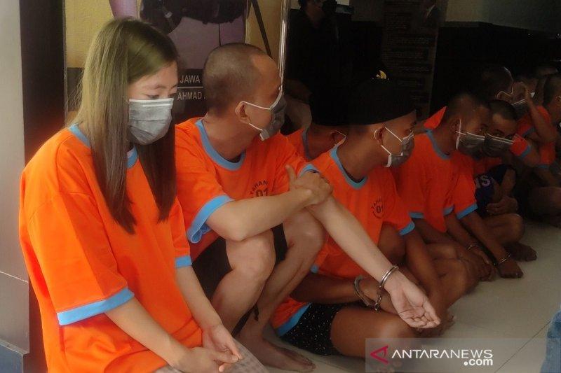 Kepsek Mts di Cianjur ditangkap saat pesta narkoba