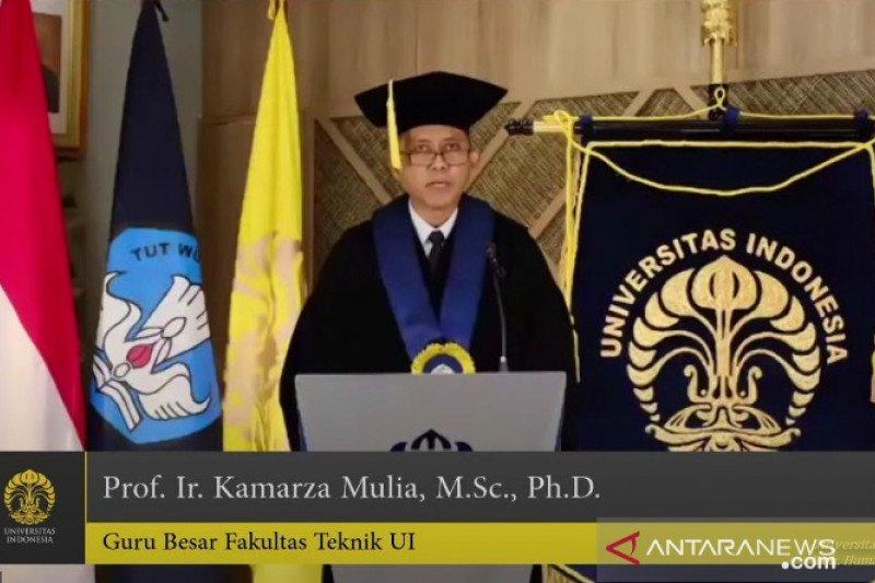 UI kukuhkan Prof. Kamarza Mulia sebagai guru besar