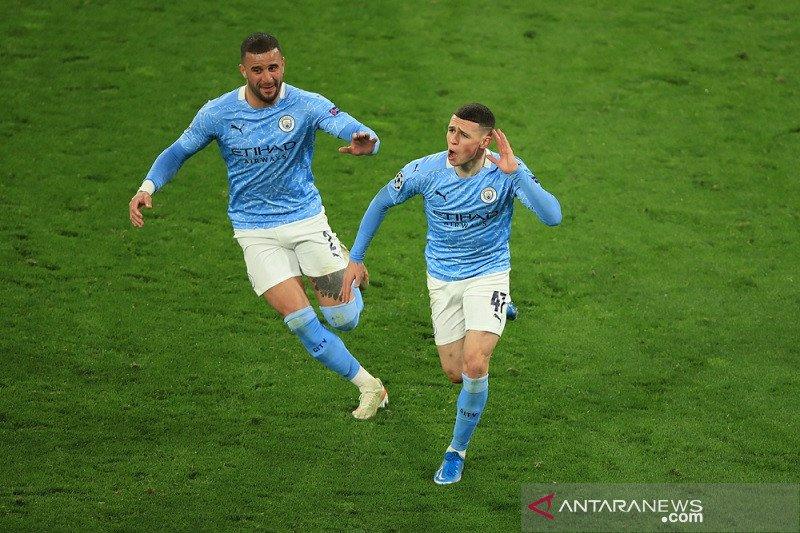 City ke semifinal setelah gandakan agregat atas Dortmund