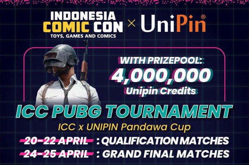 ICC dan UniPin hadirkan turnamen PUBG Mobile