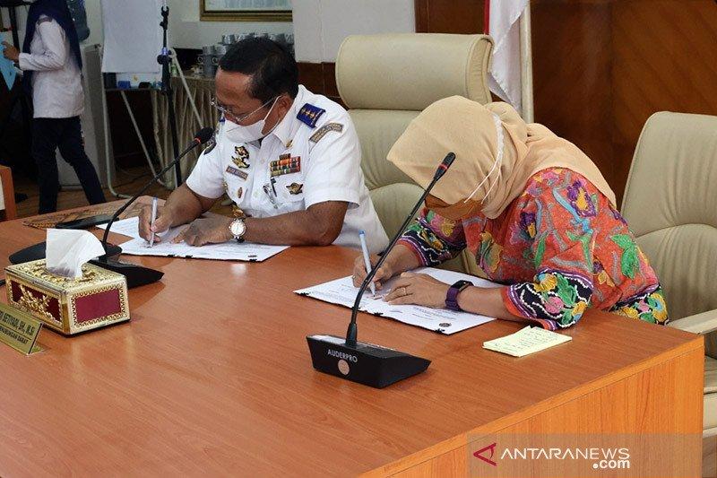 Kemenhub dan ASDP kerjasama pemanfaatan pelabuhan di KSPN Danau Toba