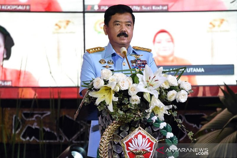 Panglima TNI sebut Dharma Pertiwi berperan wujudkan keluarga tangguh