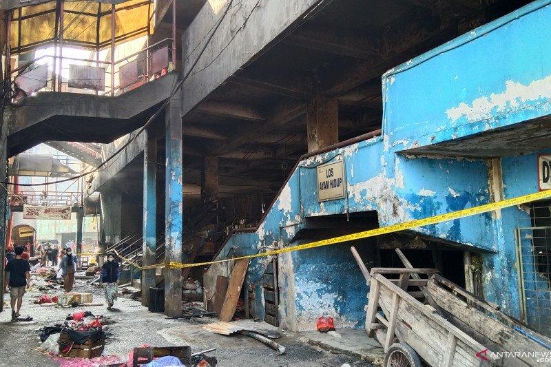 Pedagang korban kebakaran Pasar Minggu direlokasi ke Blok B dan F