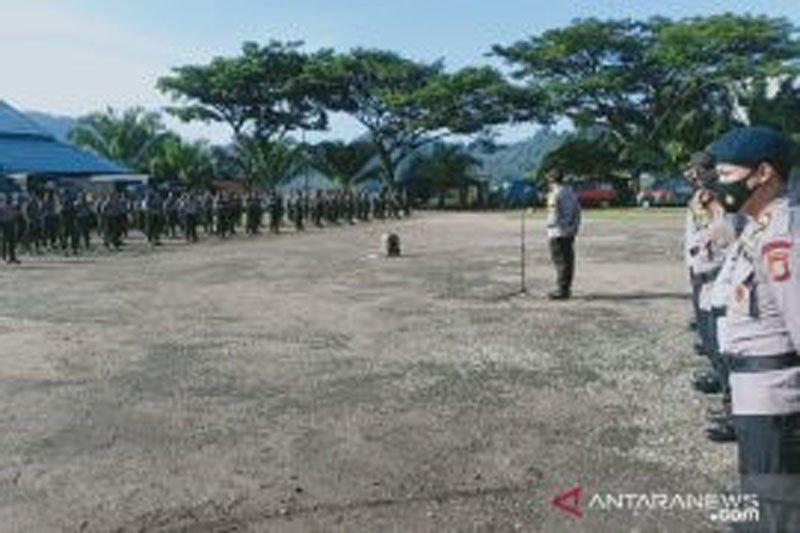 Polda Sulteng kerahkan 200 personel bantu pengamanan PSU di Morut