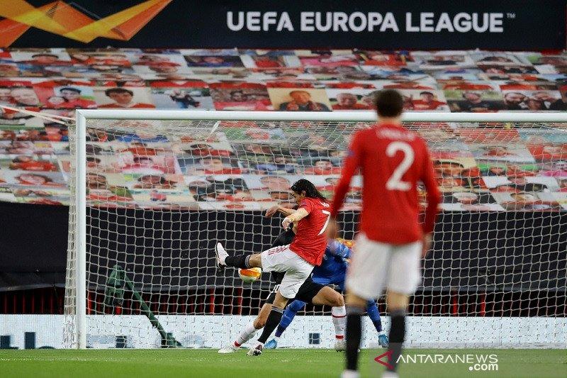 MU lolos ke semifinal Liga Europa usai pertegas agregat atas Granada
