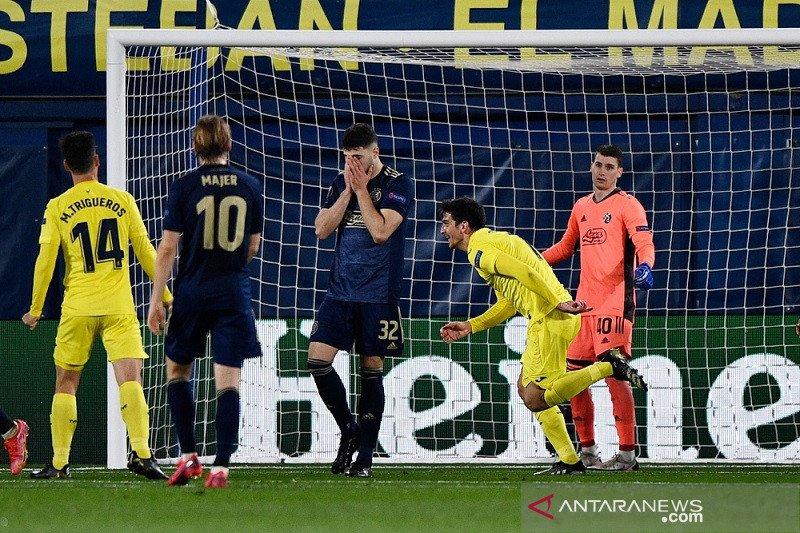 Villarreal mantapkan agregat atas Dinamo, Roma singkirkan Ajax
