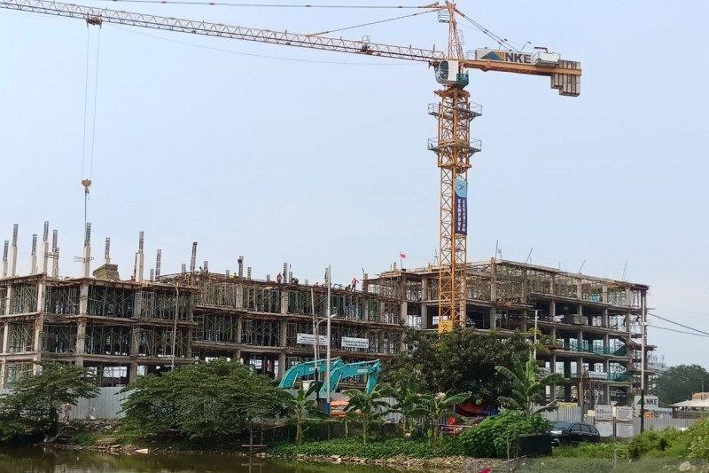 Pembangunan tahap pertama Kampung Susun Akuarium masih sesuai target