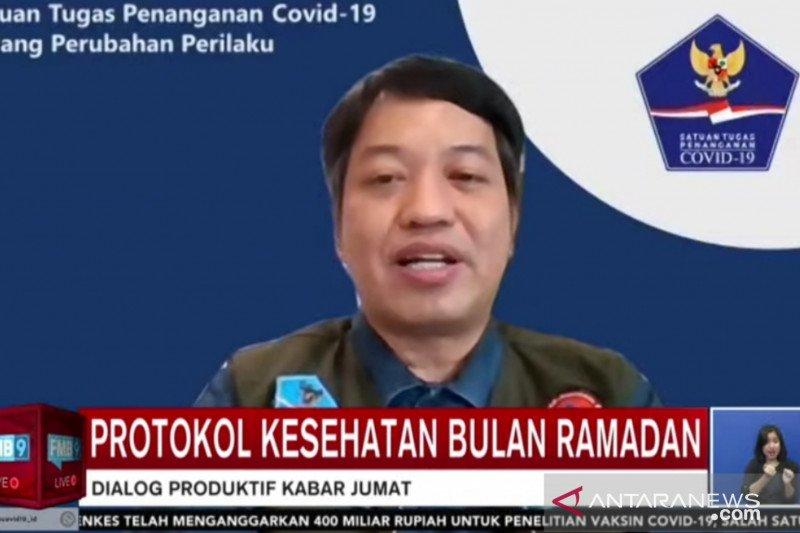 Satgas imbau sisipkan pesan prokes dalam aktivitas dakwah Ramadhan