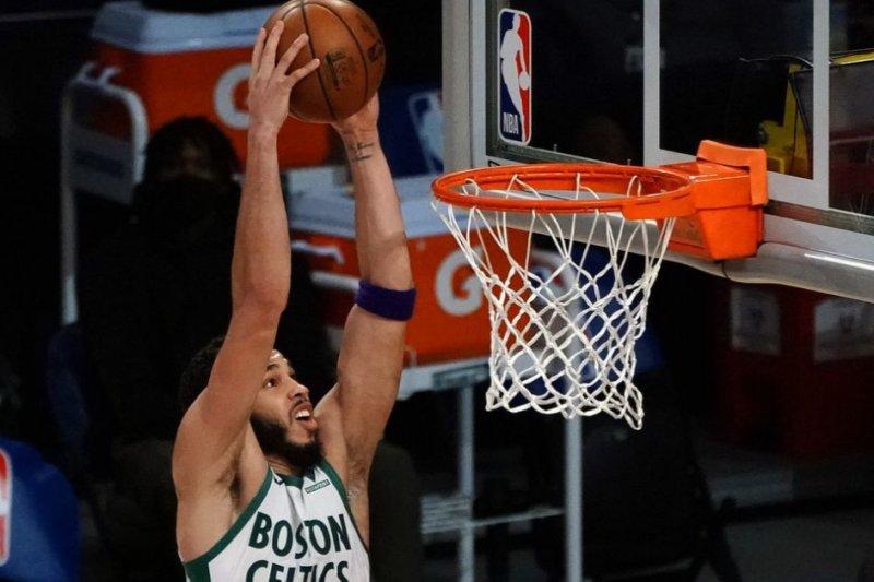 Jayson Tatum bantu Celtics petik kemenangan 119-114 atas Warriors