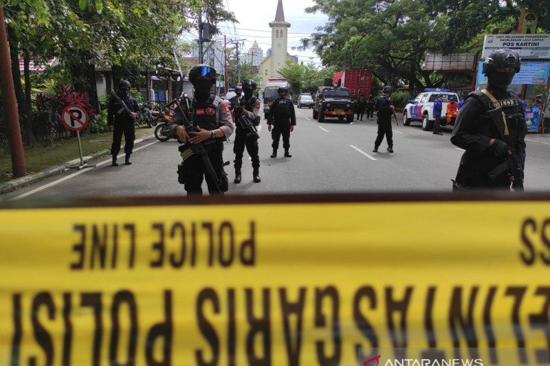 Densus 88  sudah amankan 32 terduga teroris di Sulsel