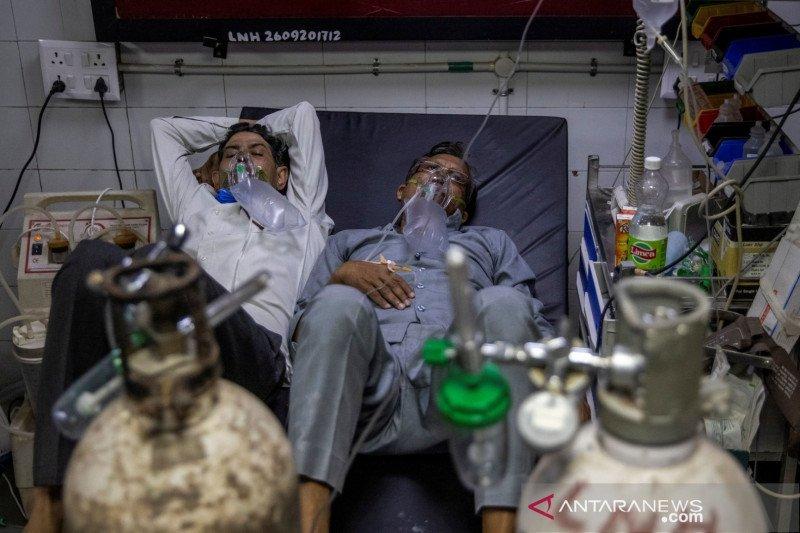 WHO: Kerumunan RS memperburuk krisis COVID di India