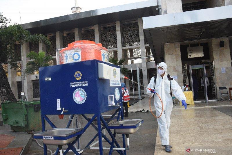 Penambahan kasus positif COVID-19 Jakarta pada Minggu sebanyak 950