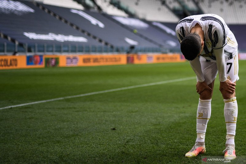 Juventus dipastikan tanpa Ronaldo lawan Atalanta karena cedera