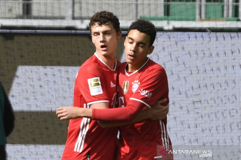 Jamal Musiala pimpin Bayern bekuk Wolfsburg 3-2