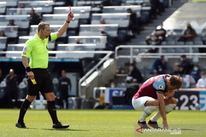 Newcastle ganggu ambisi West Ham ke Liga Champions