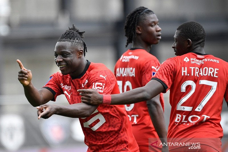 Rennes kembali dekati zona Eropa seusai menang di Angers