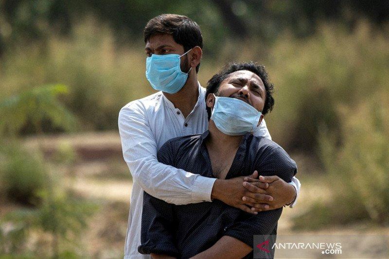 India catat rekor 314.835 kasus baru COVID dalam sehari