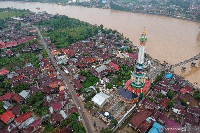 Menara Gentala Arasy, tempat belajar sejarah penyebaran Islam di Jambi