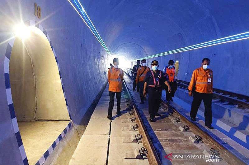 Manajemen KAI Purwokerto cek kondisi Terowongan Ijo