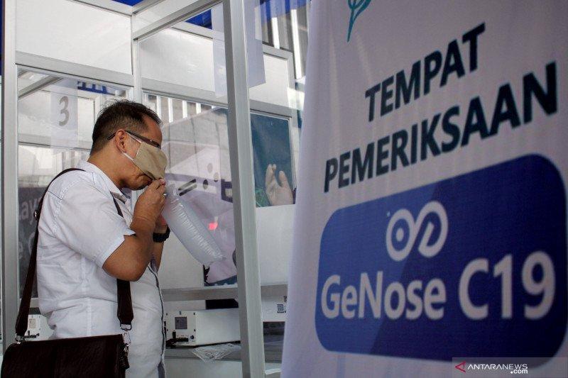 Layanan GeNose C19 dibuka lagi di tiga bandara