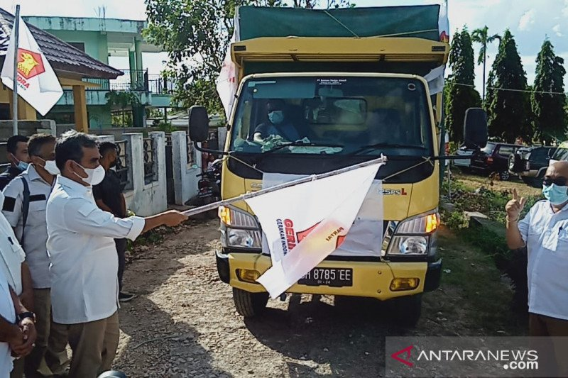 Gerindra distribusikan logistik untuk korban bencana alam NTT