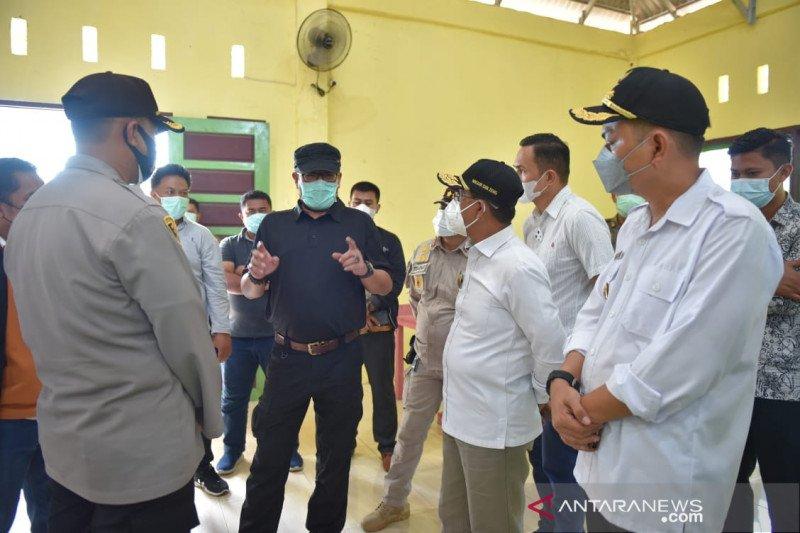 Anggota KPU RI dan Wagub Sulteng tinjau TPS PSU Pilbup Morowali Utara