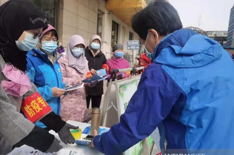 "Umat Islam Beijing gelar bakti sosial ""Zhai Yue Shanxing"""