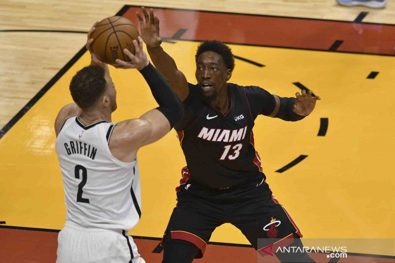 Ringkasan NBA: Bam Adebayo bawa Heat ungguli Nets