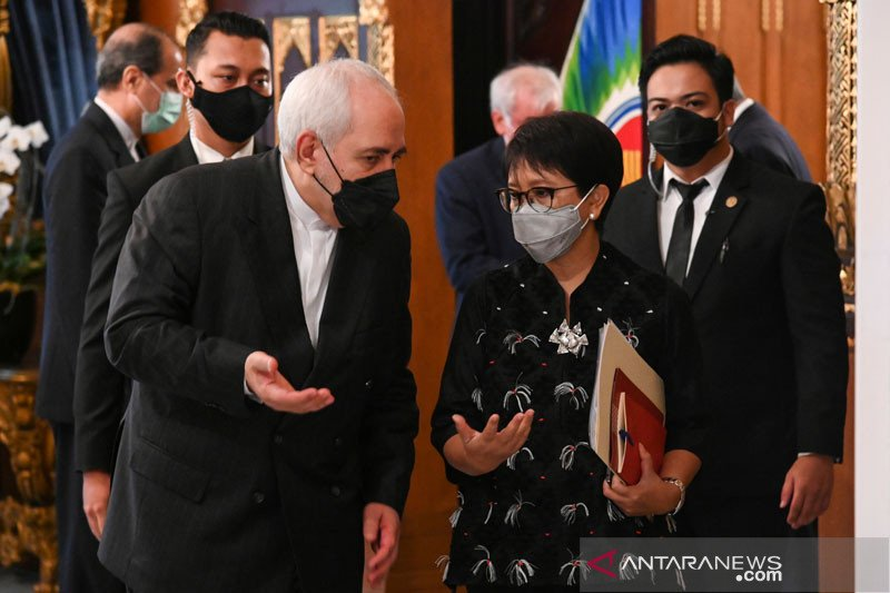Menlu Iran puji prinsip Indonesia terhadap perjanjian nuklir JCPOA