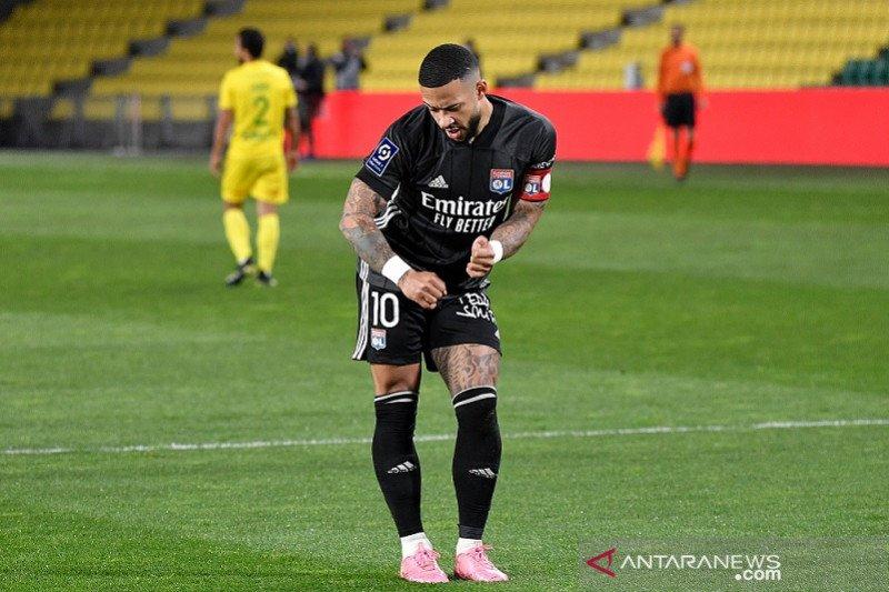 Lyon dekati puncak selepas bekuk Nantes