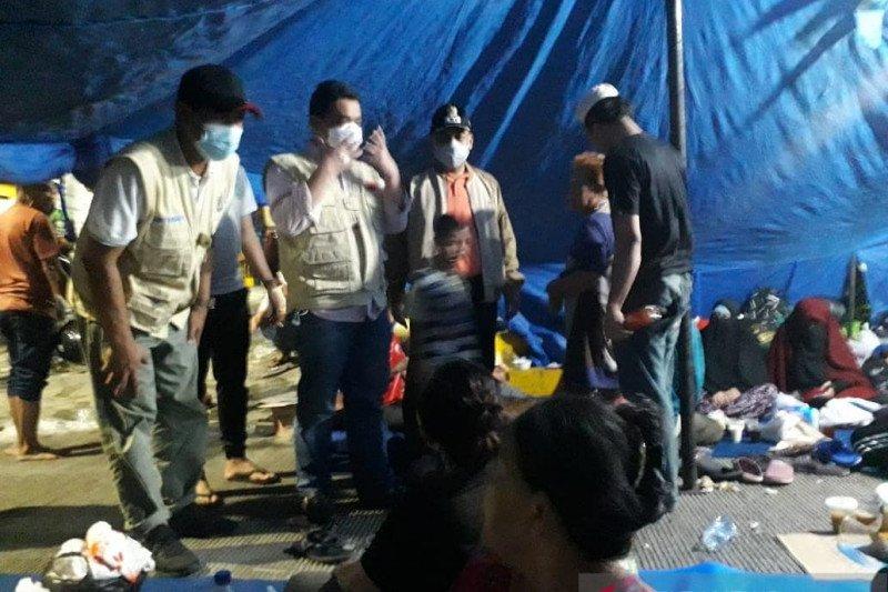 Wagub DKI sambangi lokasi pengungsian korban kebakaran Taman Sari