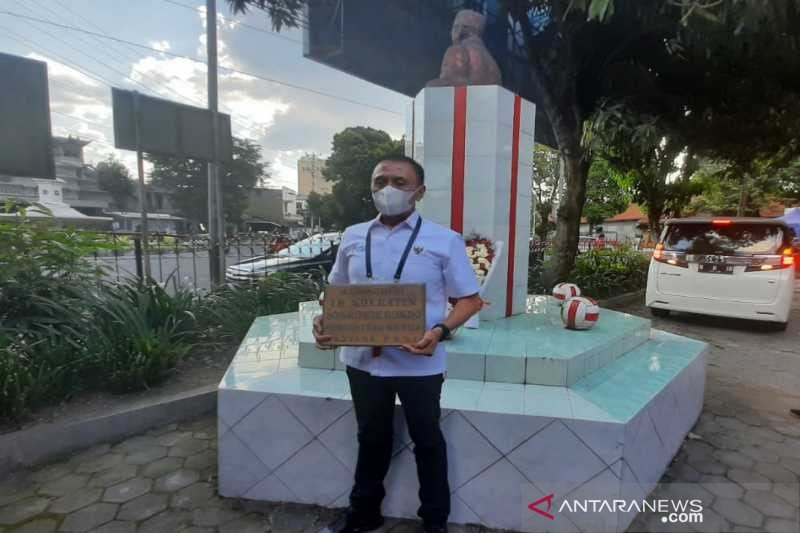 HUT PSSI ke-91, Ketum Iriawan kunjungi Balai Persis Solo