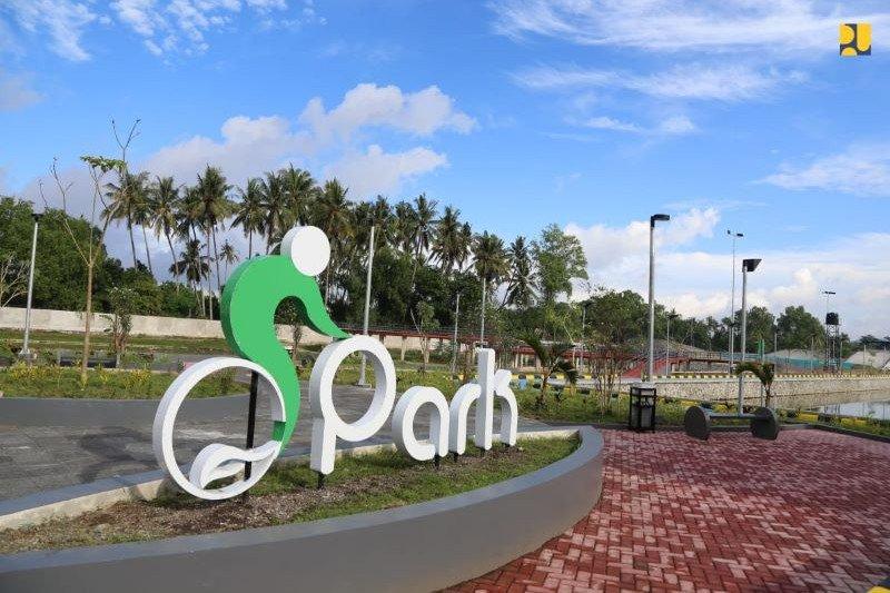 Penataan Taman Sepeda Mandalika Lombok senilai Rp17 miliar rampung