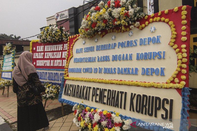 Dukungan bongkar kasus dugaan korupsi Dinas Damkar Depok