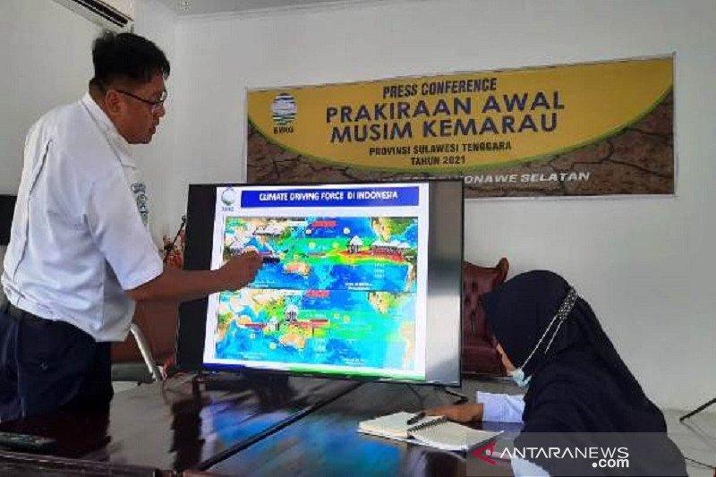 BMKG prediksi awal kemarau Sultra pada Juli-Agustus 2021