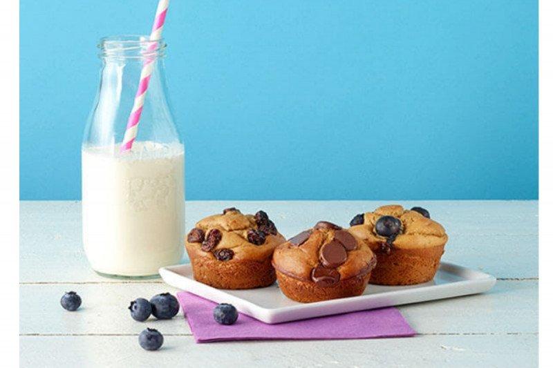 Menu Ramadhan - Quick Flourless Peanut Butter Muffins