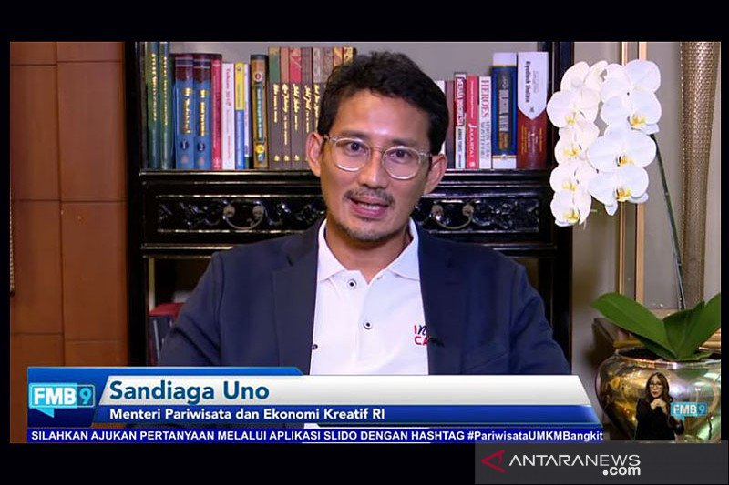 Sandiaga: Bangga guys, Indonesia ke-3 dunia ekonomi kreatif ke PDB