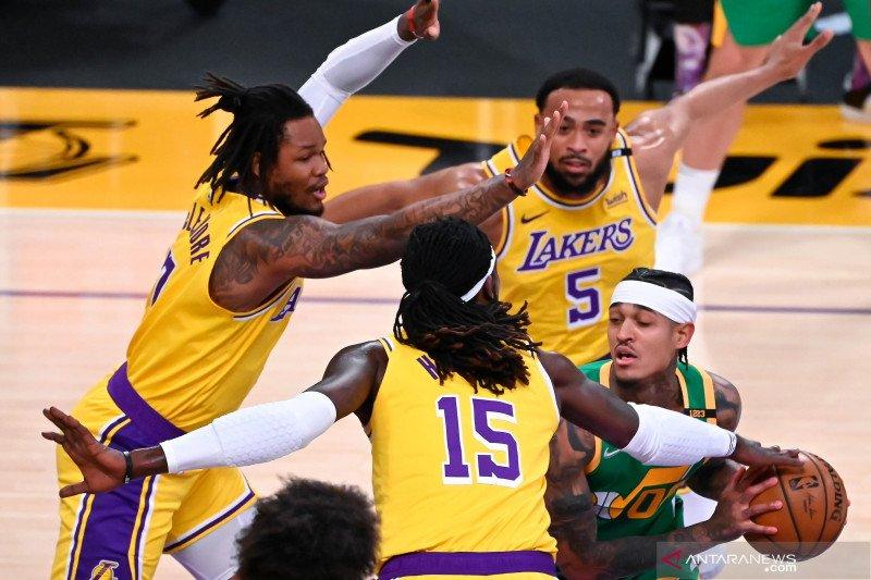 NBA : LA Lakers vs Utah Jazz