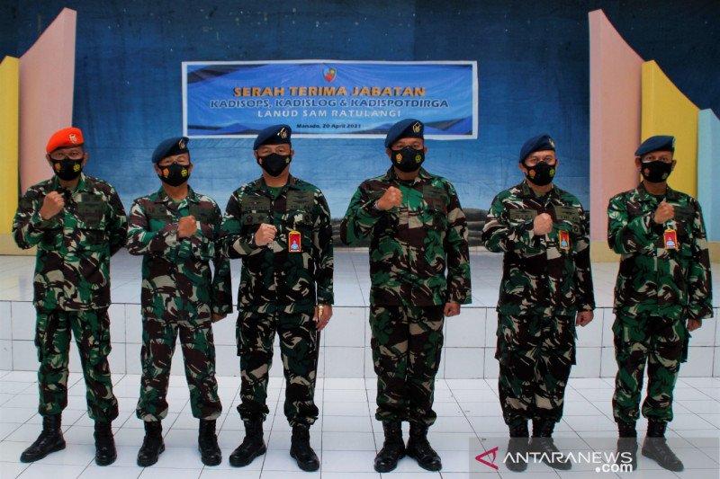 Komandan Lanud Sam Ratulangi minta pejabat baru cepat sesuaikan diri