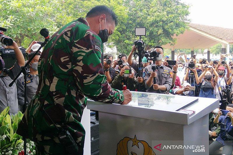 Kasad resmikan instalasi tahanan militer berbasis ICT