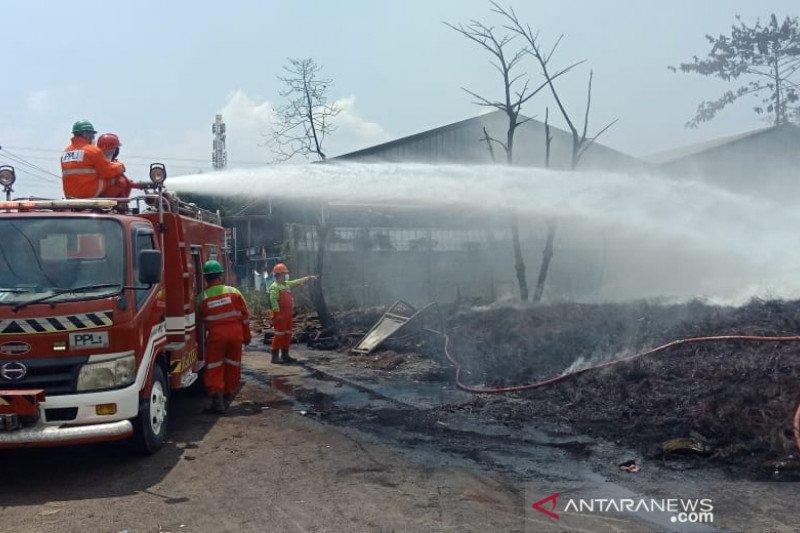 Lebih dari 24 jam petugas tangani kebakaran di Gunungputri Bogor