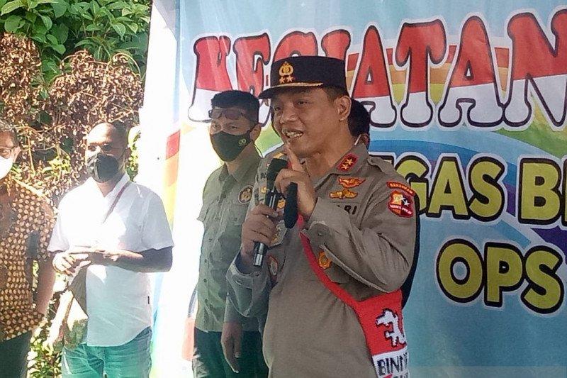 Kakorbinmas Baharkam Polri motivasi pelajar Kwamki Narama Papua