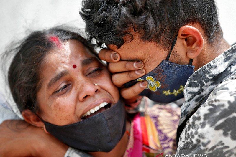 India laporkan 2.000 lebih korban meninggal COVID sehari