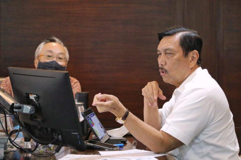 """Luhut dorong pengembangan EBT di Aceh melalui """"green industrial park"""""""