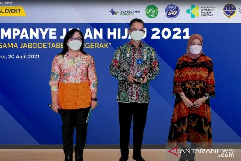 "Dishub DKI raih penghargaan ""Jalan Hijau Achievement Award 2021"""