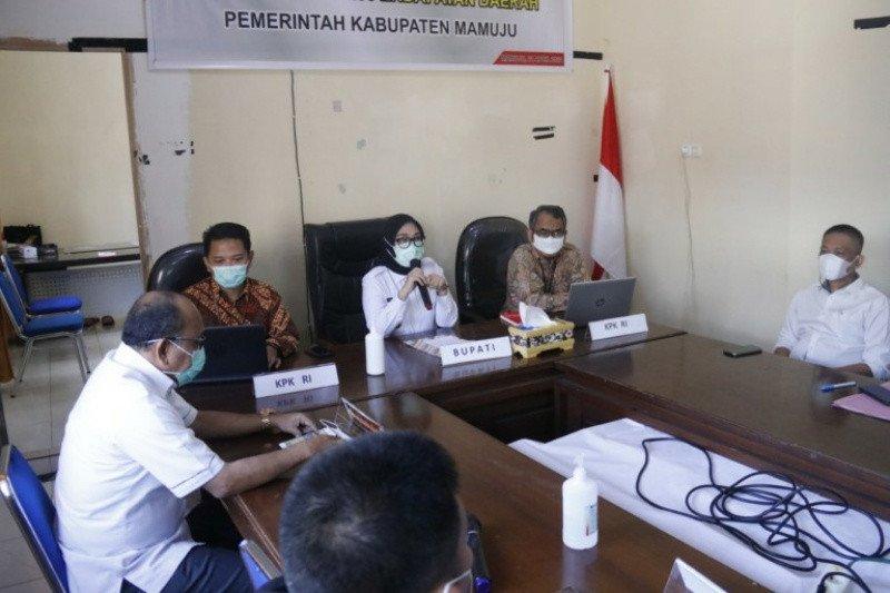Tim Korsupgah KPK supervisi program pemberantasan korupsi di Mamuju